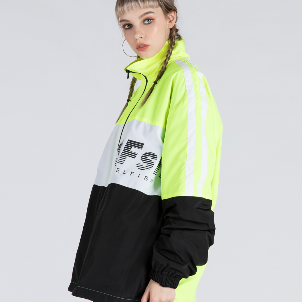 SFsH LOGO PRINTED TRACK JUMPER (SAF3JP01) (YELLOW)