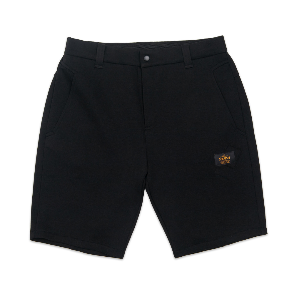 MAN'S PREMIUM BONDING SHORT PANTS (SAF3SP01) (BLACK)