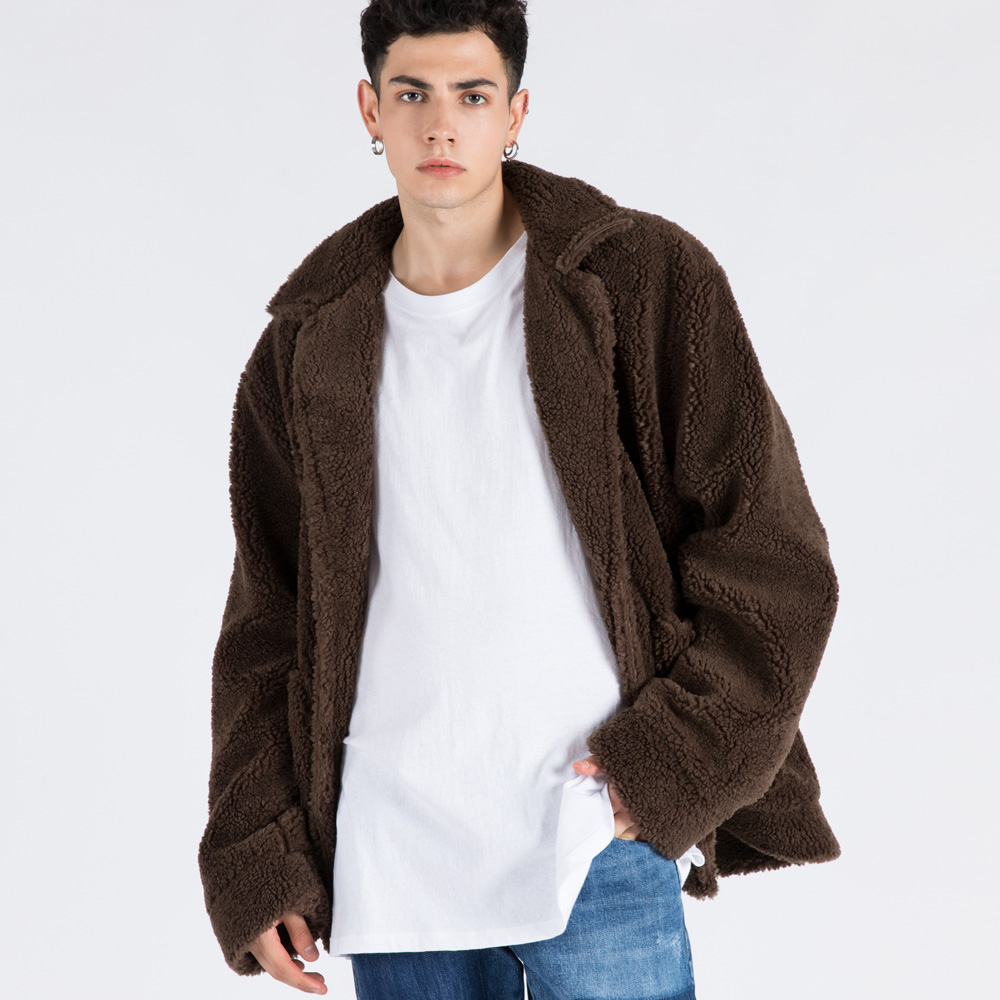 BOA SHERPA JUMPER (SAF3JP03) (BROWN)