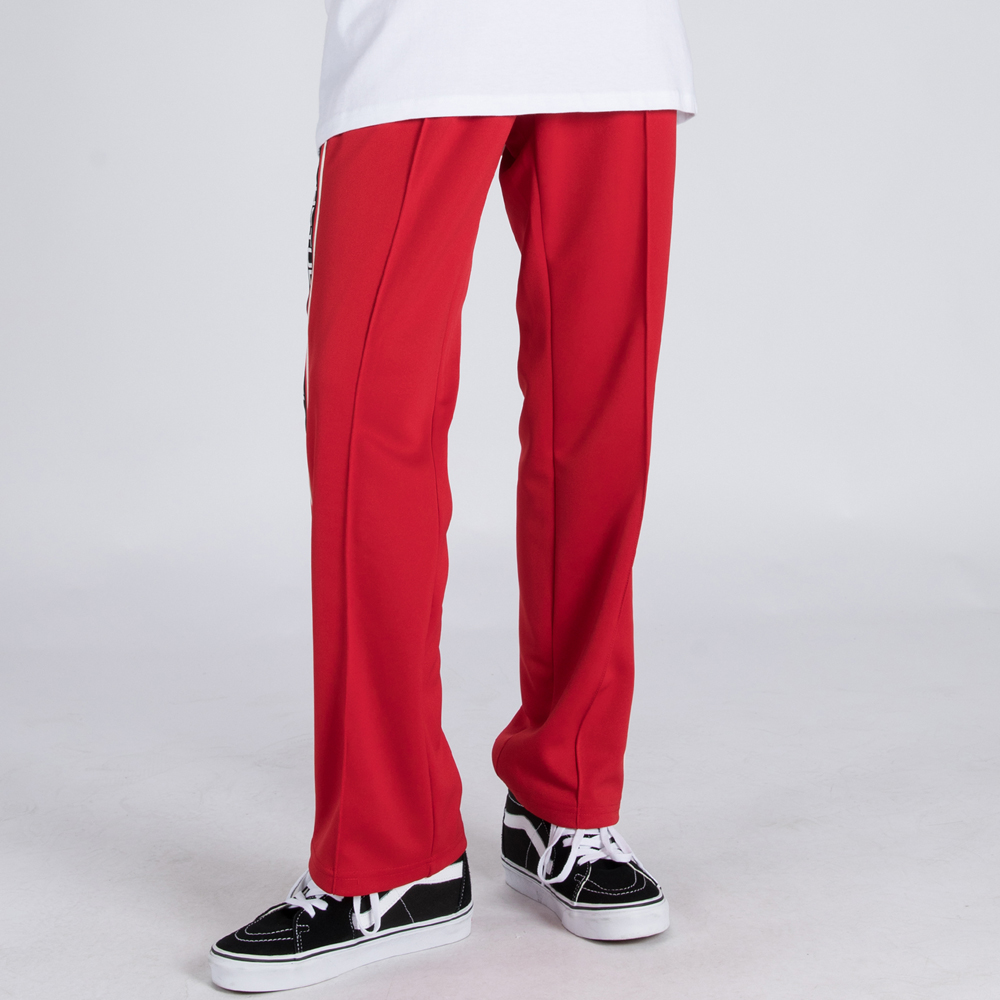 LOGO TAPE TRACK PANTS (SAF3TR04) (RED)