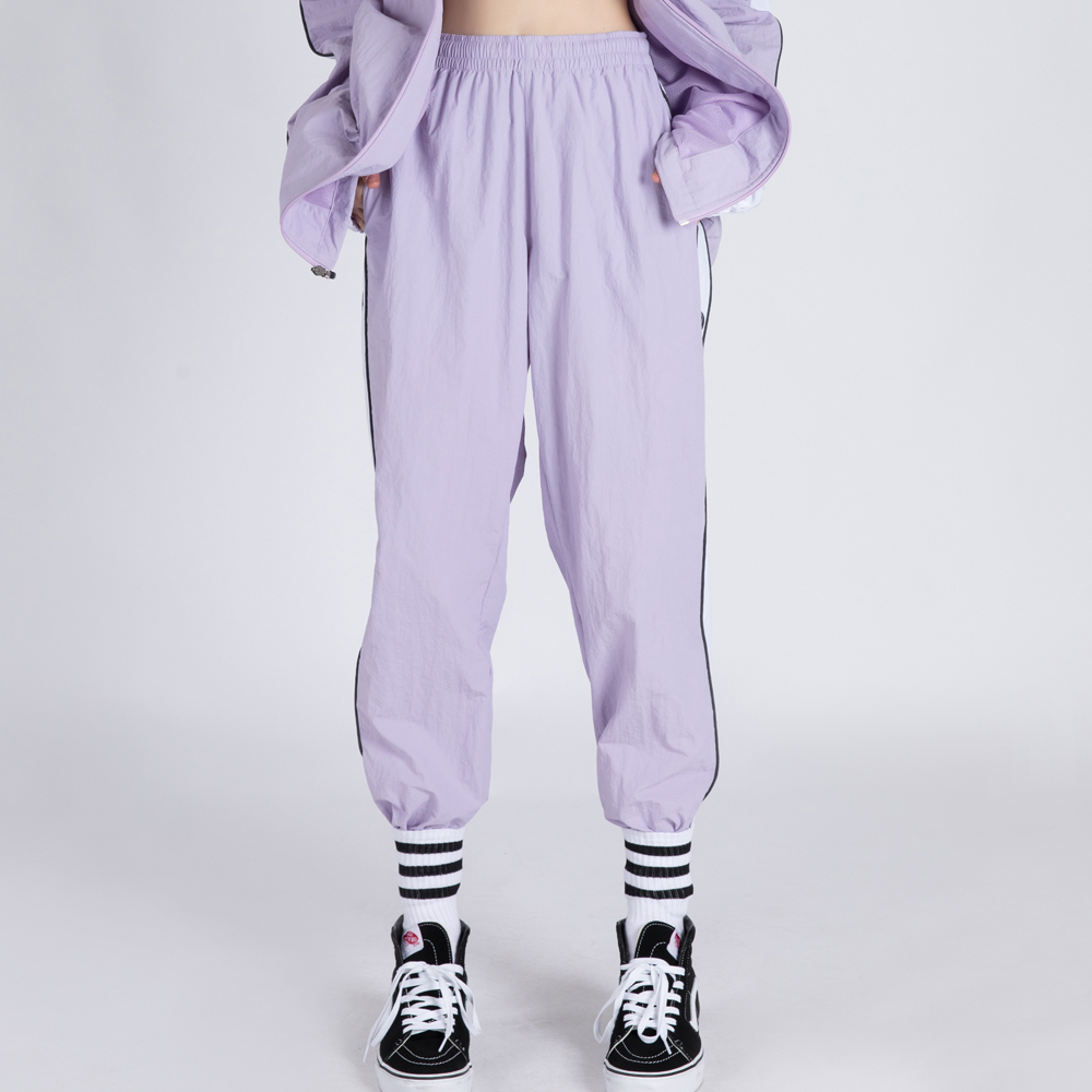 WIND-BREAK TRACK PANTS (SAF3TR02) (PURPLE)