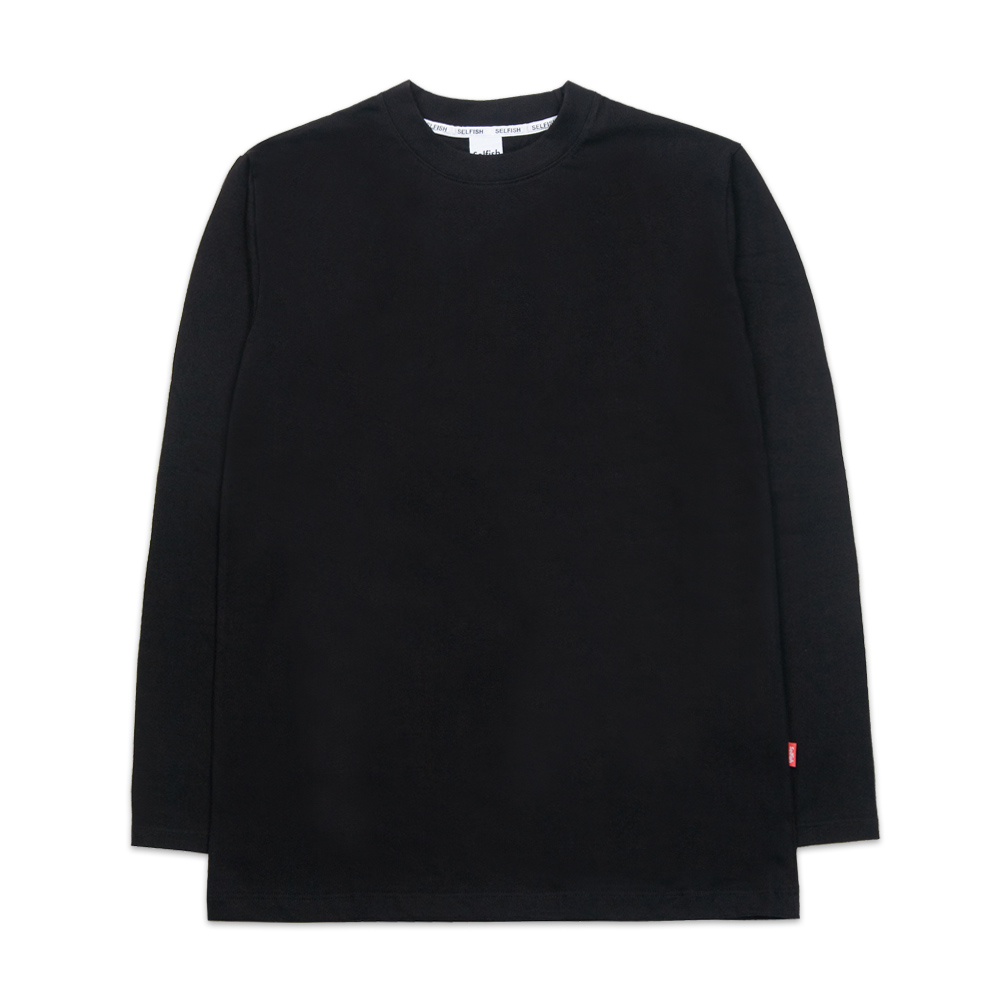 BASIC LONG SLEEVE (SAF3TS04) (BLACK)